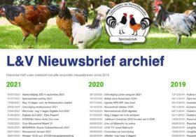 Archief L&V Nieuwsbrieven