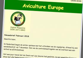 Aviculture nieuwsbrief