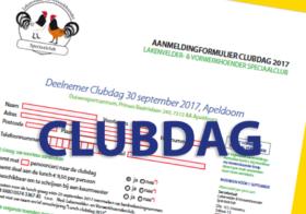 Programma Clubdag 2017